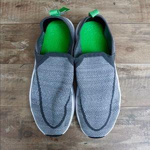 Sanuk Chiba Quest Knit Grey Men's Slip-On Shoes